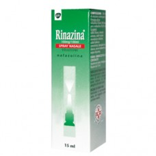 "RINAZINA ""15 mg SPRAY NASALE SOLUZIONE"" BOMBOLETTA 15 ml (SPRAY NAS 15ML 0,1%)"