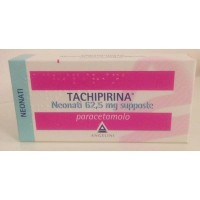 "TACHIPIRINA ""62.5 mg 10 SUPPOSTE"" BLISTER (NEO 10SUPP 62,5MG)"