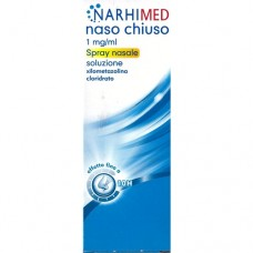 "NARHIMED NASO CHIUSO ""0.1%-10 mg SPRAY NASALE SOLUZIONE"" FLACONE 10 ml (AD SPRAY)"