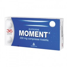 "MOMENT ""200 mg 36 COMPRESSE RIVESTITE"" BLISTER (36CPR RIV 200MG)"