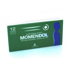 "MOMENDOL ""220 mg 12 COMPRESSE RIVESTITE"" BLISTER (12CPR RIV 220MG)"