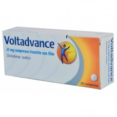 "VOLTADVANCE ""25 mg 20 COMPRESSE RIVESTITE"" BLISTER (20CPR RIV 25MG)"