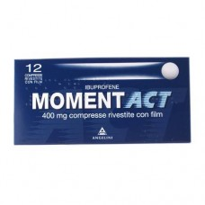 "MOMENTACT ""400 mg 12 COMPRESSE RIVESTITE"" BLISTER (12CPR RIV 400MG)"