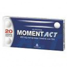 "MOMENTACT ""400 mg 20 COMPRESSE RIVESTITE"" BLISTER (20CPR RIV 400MG)"