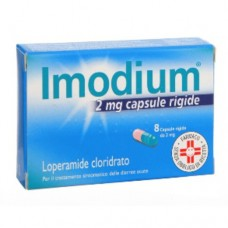 "IMODIUM ""2 mg 8 CAPSULE RIGIDE"" BLISTER (8CPS 2MG)"